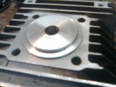 Adapter auf Zylinder
