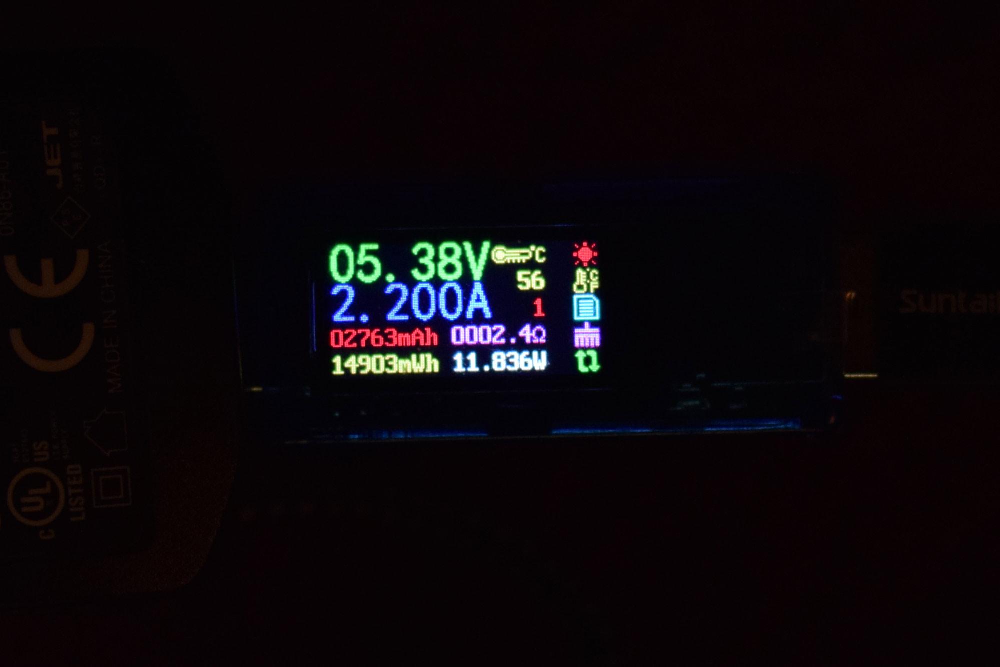 GamePi43 maximale Stromstärke