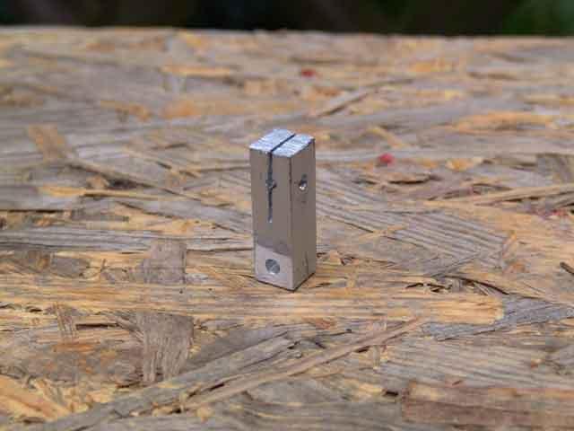 Aluminium Halter