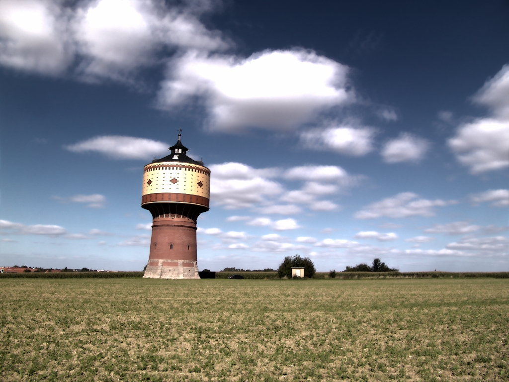 Mittweida Wasserturm HDR